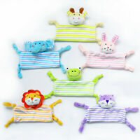 Newborn Infant Baby Soft Sleep Appease Towel Blanket Animal Doll Plush Toy