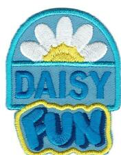 Girl Boy Cub DAISY FUN flower Day daisies Fun Patches Crests Badge SCOUT GUIDE