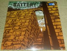 BATTERY - For The Rejected By The Rejected LP  ORANGE WAX (SEALED) UNPLAYED SXE