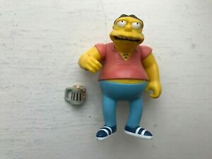 PLAYMATES INTERACTIVE THE SIMPSONS SERIES 2 BARNEY GUMBLE ACTION FIGURE WOS