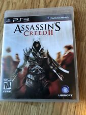 Assassin's Creed II  (Sony PlayStation 3, 2009) PS3 Cib Game H3