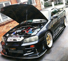 Nismo Style Side Skirt Addons / Extensions for Nissan Skyline R34 GTR v8