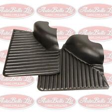 CLASSIC FIAT 500 LUSSO REAR DOOR CARDS DOOR PANEL BLACK INTERIOR TRIM BRAND NEW