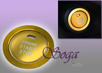 GOLD KEYLESS ENGINE PUSH START BUTTON TRIM COVER RING FOR SUBARU BRZ FORESTER @@
