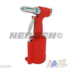 "Air IDRAULICA PNEUMATICA POP Riveter Rivet Gun Power 3/16, 5/32 1/8 3/32"" Taglie"