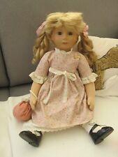 Steiff Puppe, Goldilocks, Original, Vitrinenstück