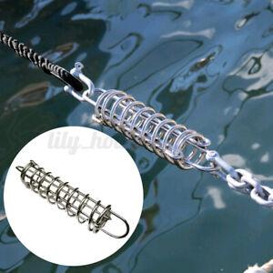 Festmacher Anlegefeder Ruckdämpfer Boots Zugdämpfer Feder aus Edelstahl V4A Boot
