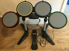Rock Band Drum Kit USB Wired Controller PlayStation PS3 PS2
