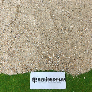 Serious-Play Fine Coastal Sand + Shell - Scatter Warhammer Model Scenery Beach