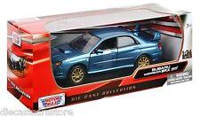 MOTOR MAX SUBARU  IMPREZA WRZ ST1 BLUE 1/24 Diecast Car 73330BL