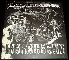 "THE GOOD THE BAD & THE QUEEN..HERCULEAN..7"" VINYL MINT + POSTER 2006 R6722"
