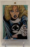 INVISIBLE WOMAN MARVEL BRONZE AGE SKETCHAFEX ARTIST SKETCH AUTO ART CARD 1/1