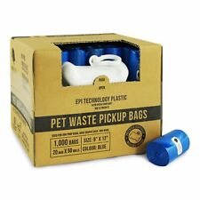 Dog Poop Bags Pick Up Pet Waste Pooper Scoopers Disposal Up Waste Poo Roll Bags