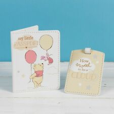 More details for disney magical beginnings winnie the pooh passport & luggage tag baby first gift