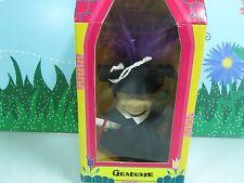 """GRADUATE (#2)- 5"""" Trollkins Troll Doll  - NEW IN PACKAGE"""