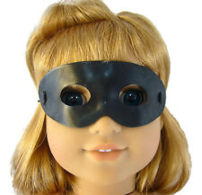 "Black Halloween Mask for 18"" American Girl Doll Clothes Accessories"