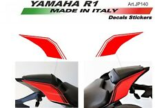 Stickers Kit for seat unit Yamaha R1 Red 2015/18