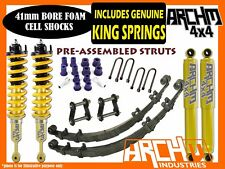 TOYOTA HILUX 2005-15 ARCHM4X4 & KING SPRINGS XTREME 2INCH-50mm F&R LIFT KIT