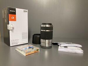 Sony SEL55210 E 55-210mm F/4.5-6.3 OSS - E mount - dia. 49 mm with UV(C) Filter