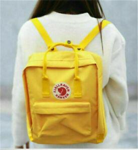 Hot Fjallraven Kanken Men/Women fashion leisure travel backpack school bag
