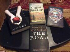 """BUY IT NOW""4 Book twilight saga ,The Road,A Thousand Splendid Suns.Half Moon."