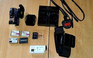 Sony Action Cam Mini HDR-AZ1 11.9MP Splashproof Action Camera Kit with...