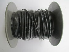 12 AWG Black Solid Gasoline & Oil Resistant Wire