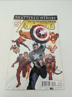 The Avengers #19 (January 2012) Shattered Heroes Bendis Acuna Marvel Comics
