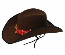 Mens Boys Unisex Crocodile Dundee Hunter Explorer Adventurer Jungle Hat & Teeth