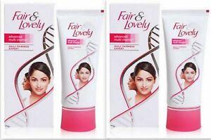 Fair & Lovely Multi Vitamin Fairness Cream Fair Skin Whitening - 80 gm (2 Pc)