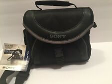 Sony LCS -X20 Handycam  And Camera Soft Carrying Case - Black