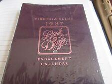 Virginia Slims , 1987 , Book of Days ,  Engagement Calendar , Illustrated , Rare
