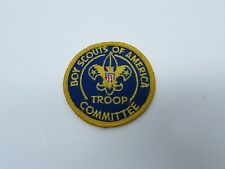 Boy Scouts Of America Troop Committee Patch