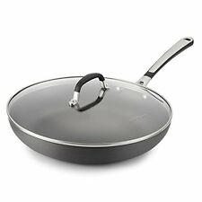 NEW Simply Calphalon 12 Inch Nonstick Covered Omelette Pan FREE SHIPPING
