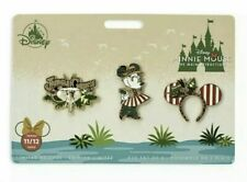 Disney Minnie Mouse The Main Attraction Jungle Cruise Pin Set IN HAND