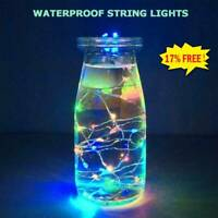 Rechargeable USB LED Bottle Cork Wire String Lights - Twin Pack  high quality