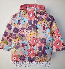 HANNA ANDERSSON Journey's End Jacket Parka Coat Ballet Pink Floral 140 10 NWT