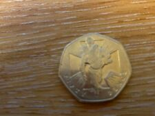 Victoria Cross 150th Anniversary (Wounded Soldier 2006) 50p Coin Circulated