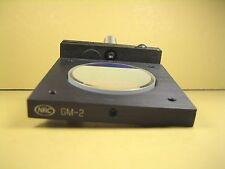 "Newport  GM-2  Gimbal Mount Adjustable Tilt Angle Mirror/Lens w/ Mirror  2"" Lens"