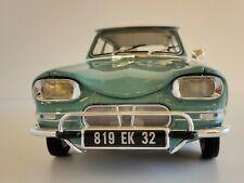 Citroën Ami 6 1964 1/18 norev 181536 jade Flaminio Bertoni Dynam