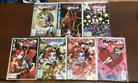 Lot Of 7 Harley Quinn DC Comics The New 52 Ships Immediately! See Description !!