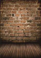 Baby Backdrops Photo Studio Vinyl 5x7FT Brick Wall Retro Photography Background