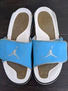 Nike Air Jordan Men's Size 12 Hydro Sandals 428789-407 Blue White