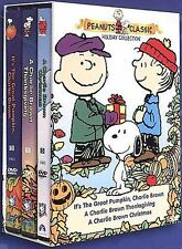 Peanuts Holiday Collection A Charlie Brown Christmas/A Charlie Brown Thanksgivi