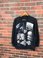vintage M.C Escher crewneck sweatshirt men l andazia vtg 90s art illusion