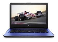 "HP Notebook 14-am052nr 14"" (32GB, Intel Celeron, 1.60GHz, 4GB) Notebook - Blue -"