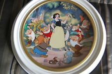 Disney Treasured Moments Snow White and the seven dwarfs plate by Knowles