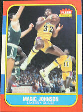 Fleer Autograph Los Angeles Lakers Basketball Trading Cards
