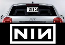 """Scheiben- Karosserieaufkleber """"NIN"""" NINE INCH NAILS 50cmx20cm Hochleistungsfolie"""
