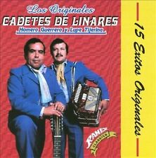 LOS CADETES DE LINARES - 15 Exitos Originales - CD ** Brand New **